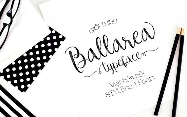 [Script] Ballarea Typeface Việt hóa