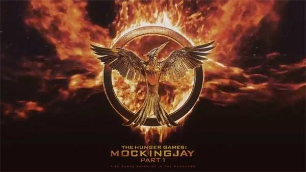"""Logo de """"The Hunger Games: Mockingjay part 1"""