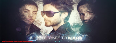 Couverture pour facebook 30 seconds to mars