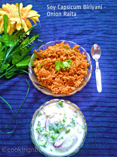 Onion Raita | How to make Onion Raita