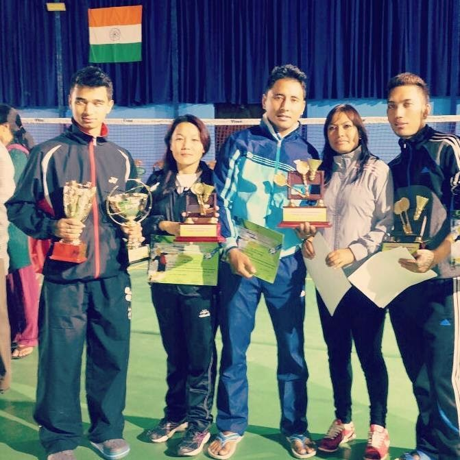 1st GTA Badminton Championship & Ranking Tournament 2014