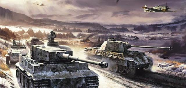 Carros de combate en la Segunda Guerra Mundial