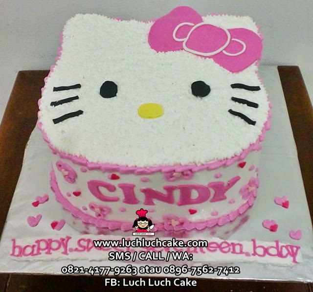 Hello Kitty Kepala Pink