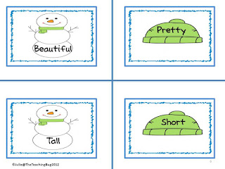https://www.teacherspayteachers.com/Product/Free-Snowman-Synonym-and-Antonym-Activity-379865