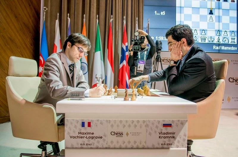 Shamkir Chess 2015. Kramnik - Vachier-Lagrave