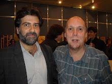con Rafael Spregelburd, el hombre de al lado, en La Feria del Libro