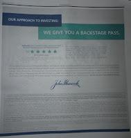 John Hancock Ad: Give Backstage Pass