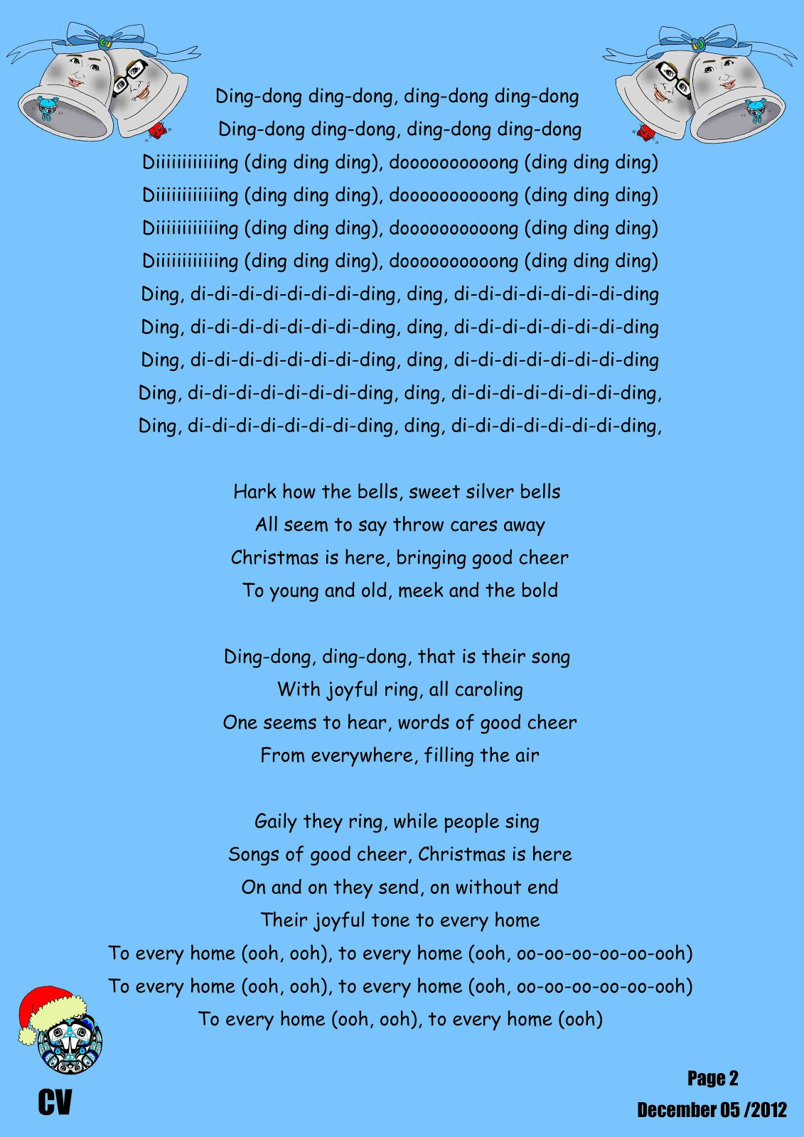 Canadian Voice English School Nagano: Other Christmas Songs...