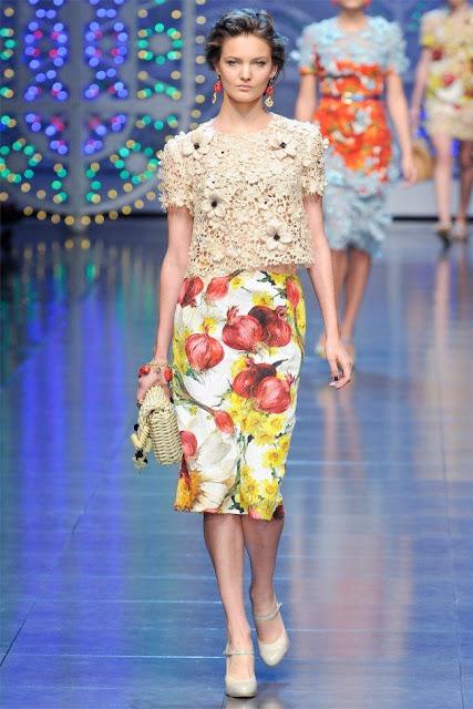 dolce gabbana22 - Dolce&Gabbana Ilkbahar 2012 | Milan Moda Haftas�