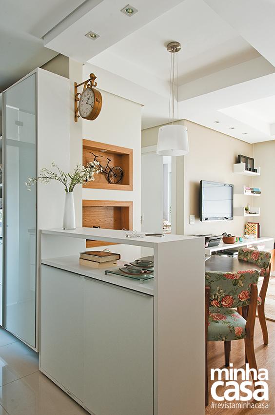 decoracao alternativa apartamentos pequenos:Apartamentos pequenos cheios de truques!