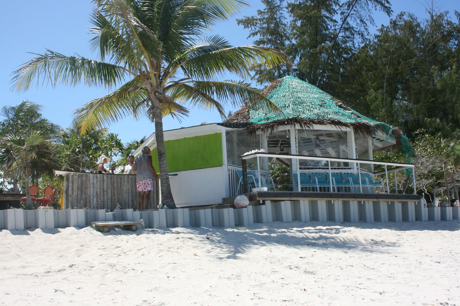 Barracuda Beach Bar North Caicos
