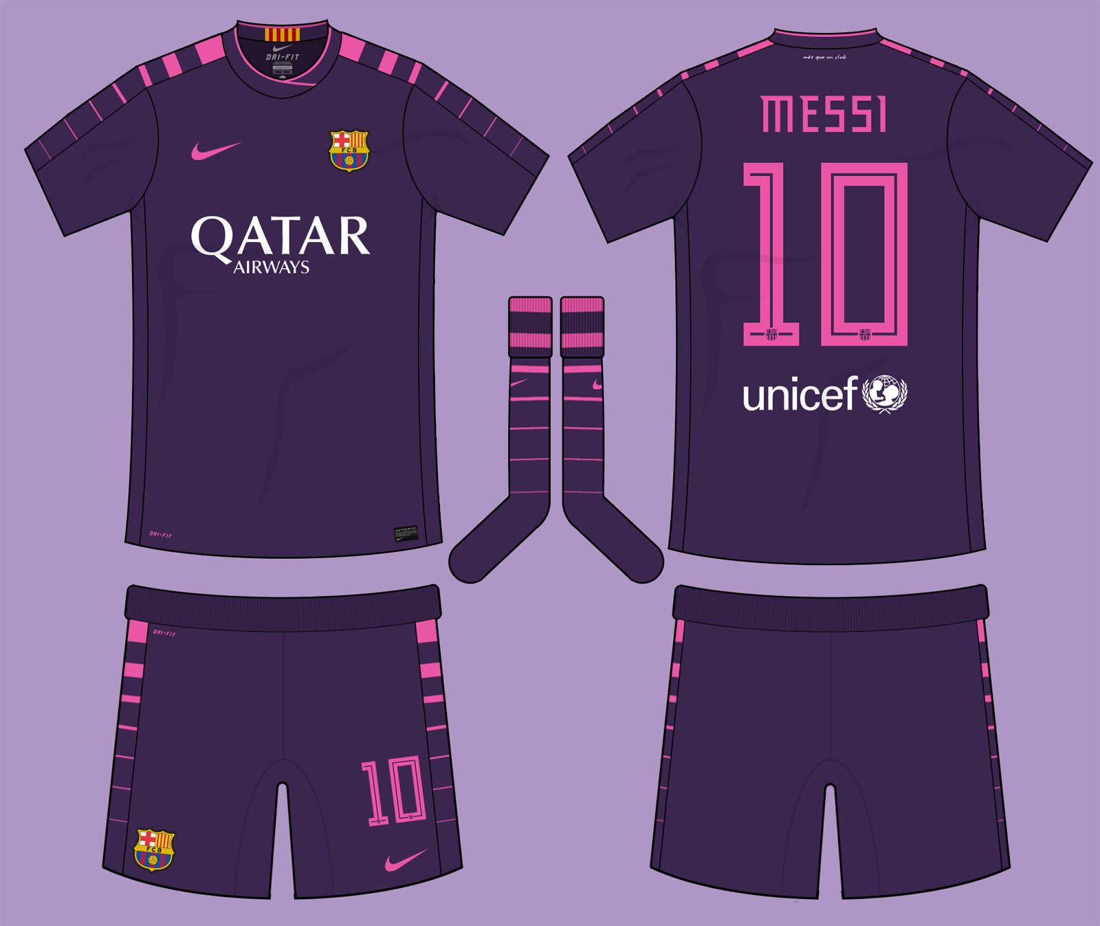 Nike News - FC Barcelona Home Kit 2016-17