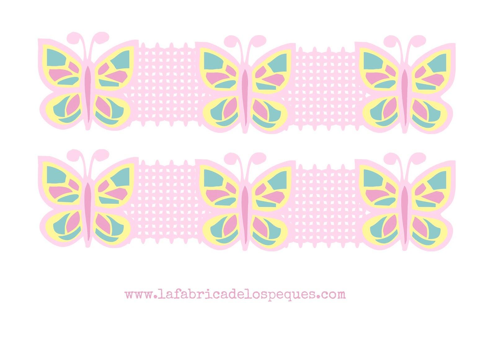 Imprimibles y moldes gratis cenefas infantiles para decorar - Cenefas para dibujar ...