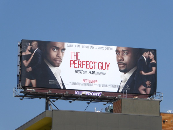 The Perfect Guy film billboard