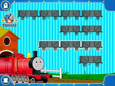 CD ROM James the train Thomas and Friends computer game for kids Special Delivery XP Windows Vista