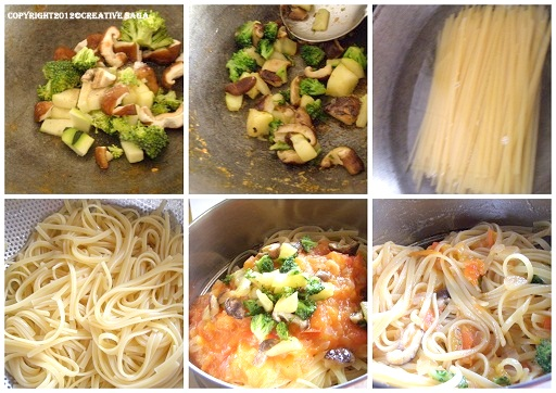pasta vegetable recipe