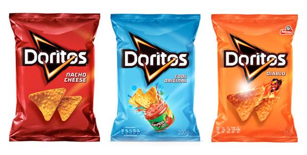 Reestilização da embalagem  de Doritos - Publicitário13