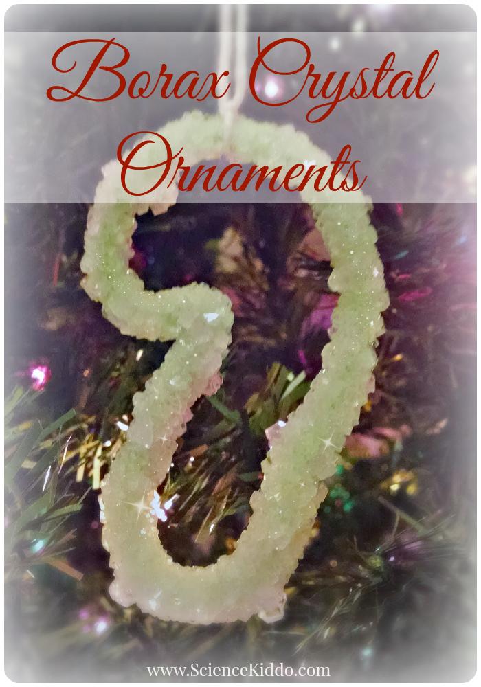 Borax Crystal Ornaments   Christmas Science