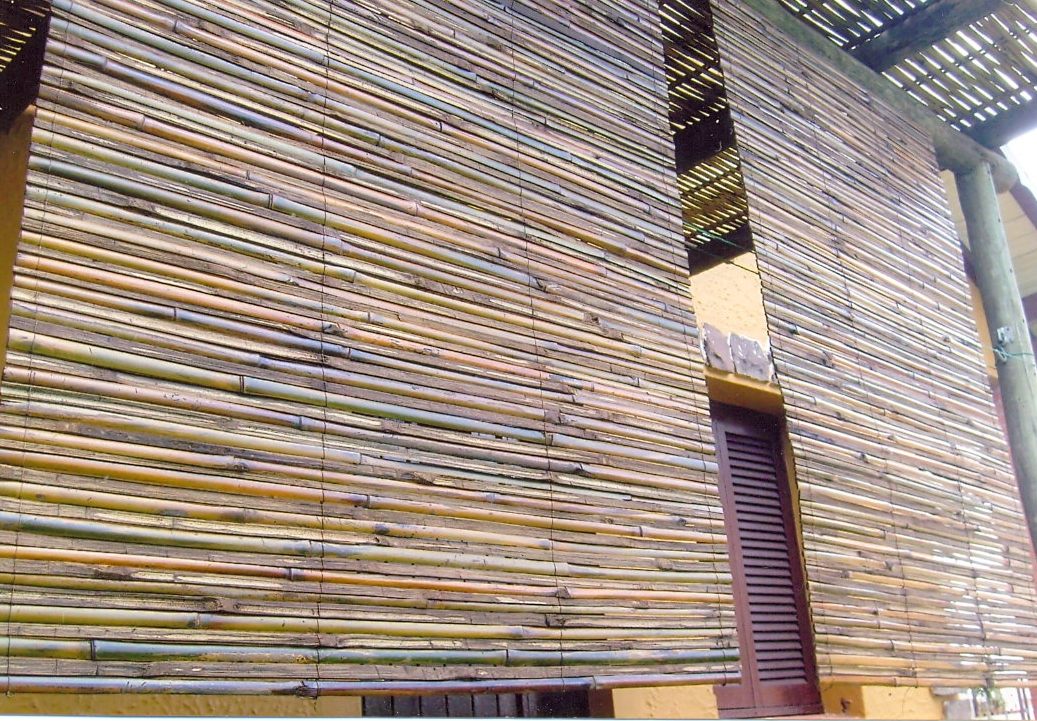 Cortinas de bambu bambu tramado - Cortina de bambu ...