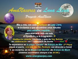 """PRÓXIMA MEDITACIÓN """"AMANACER EN LUNA LLENA""""  EN LA PLAYA O CAN BORRELL EL 6 NOV. 2014"""