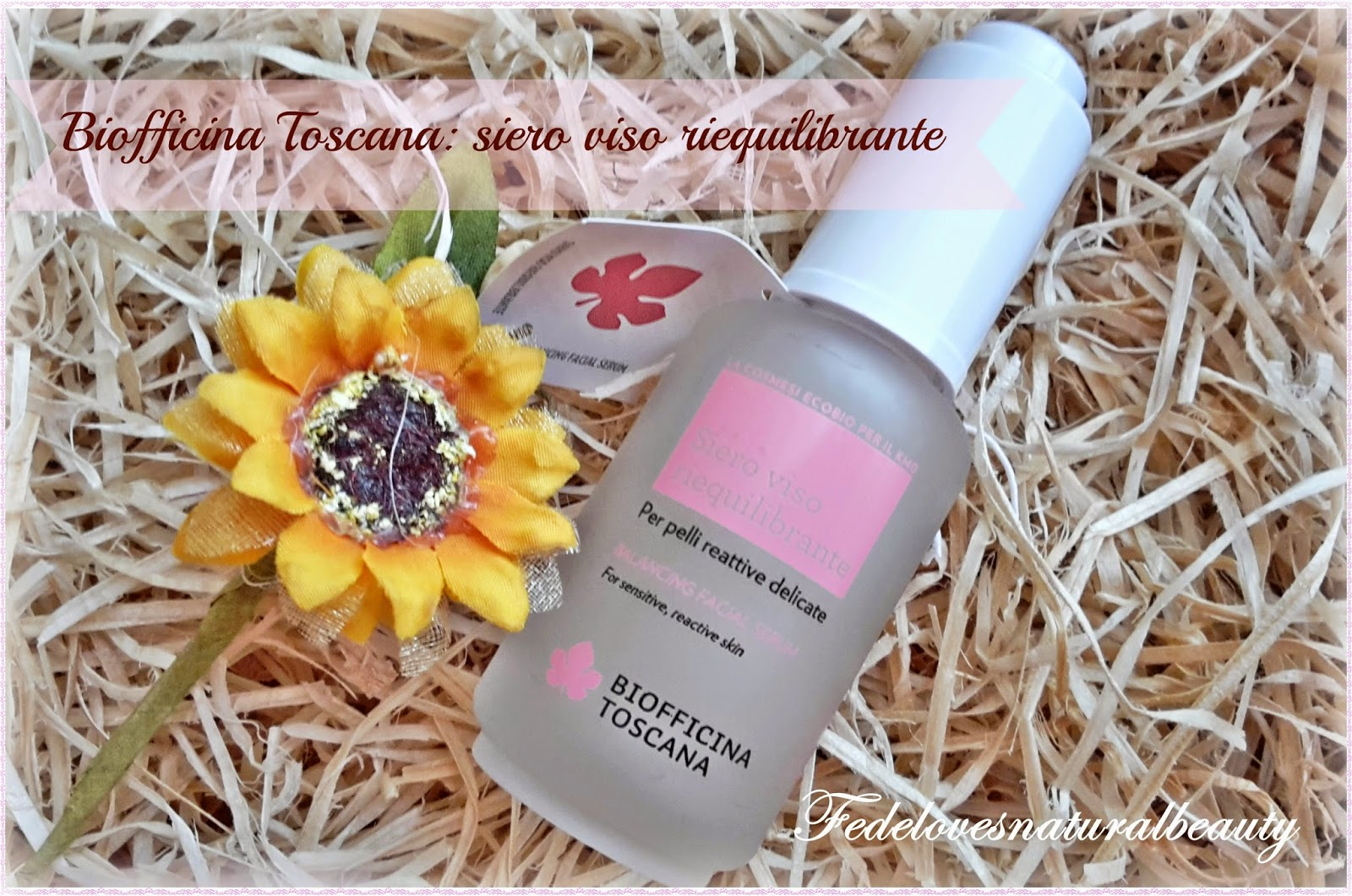 Biofficina Toscana: siero viso riequilibrante