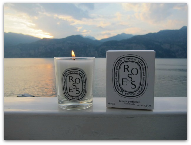 Diptyque Roses Travel Candle
