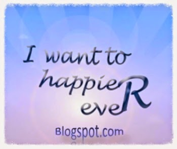 I want happier blog
