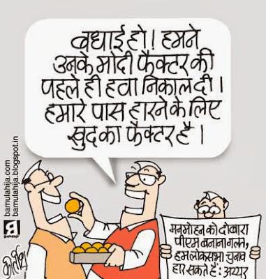Delhi election, election result, assembly elections 2013 cartoons, narendra modi cartoon, manmohan singh cartoon, election 2014 cartoons