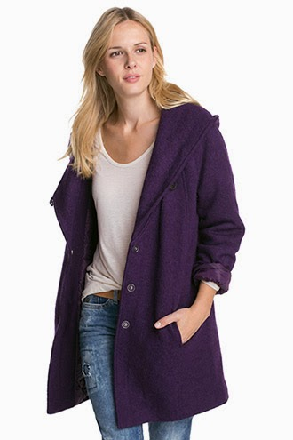 Perfect Winter Wool Coat with Hood Fashion Style