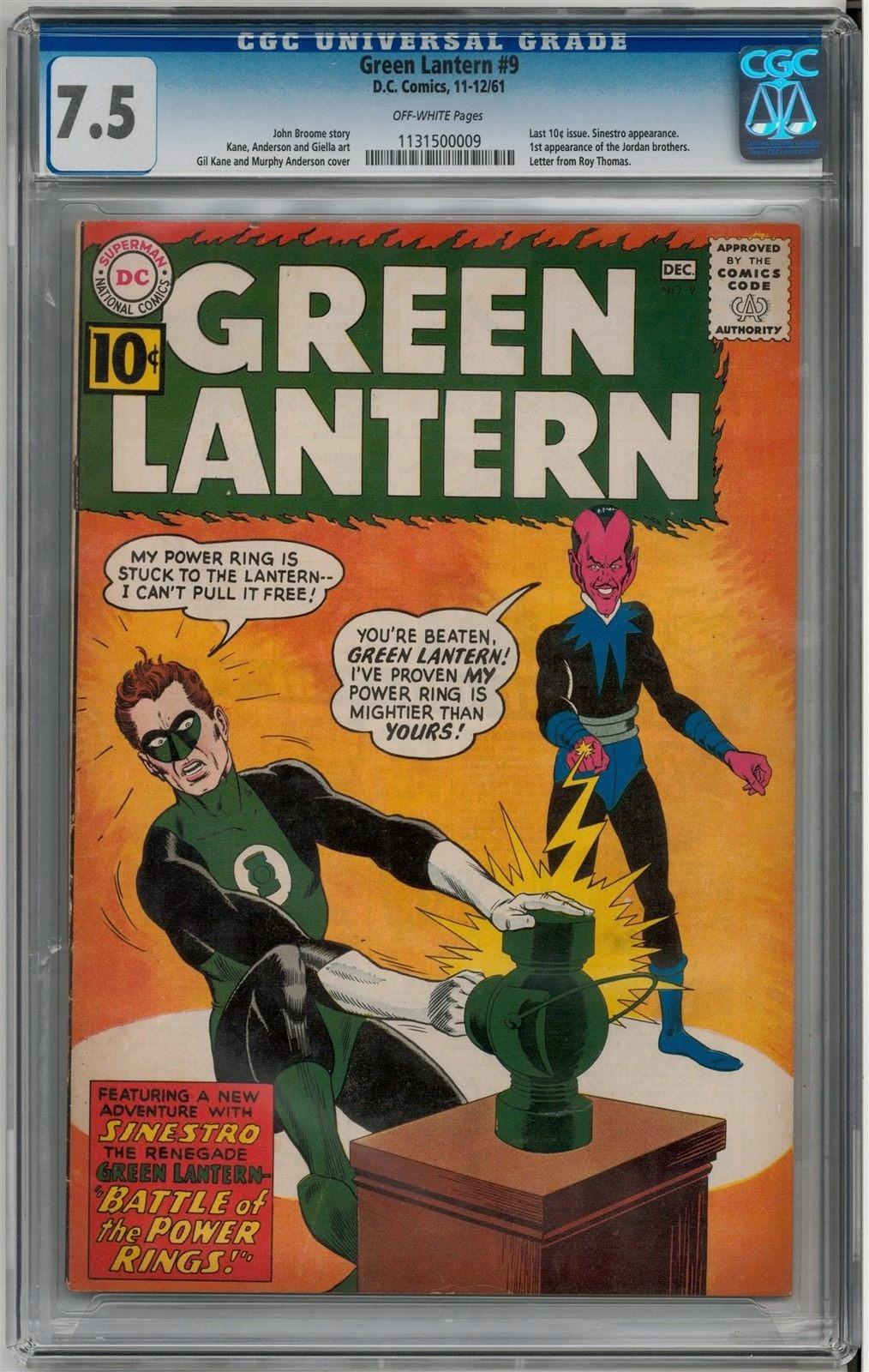 http://www.totalcomicmayhem.com/2015/02/green-lantern-9-cgc-75.html