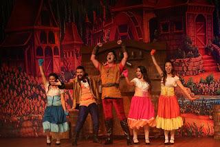 """Musical """"A Bela e a Fera"""" será apresentado no Sesc Teresópolis neste domingo, dia 20/12"""