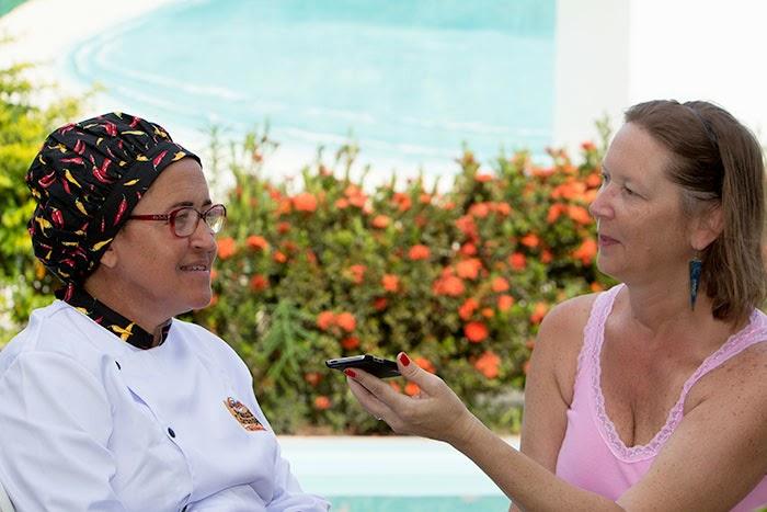 Sandra Neres em entrevista para o blog Sabores e Saberes