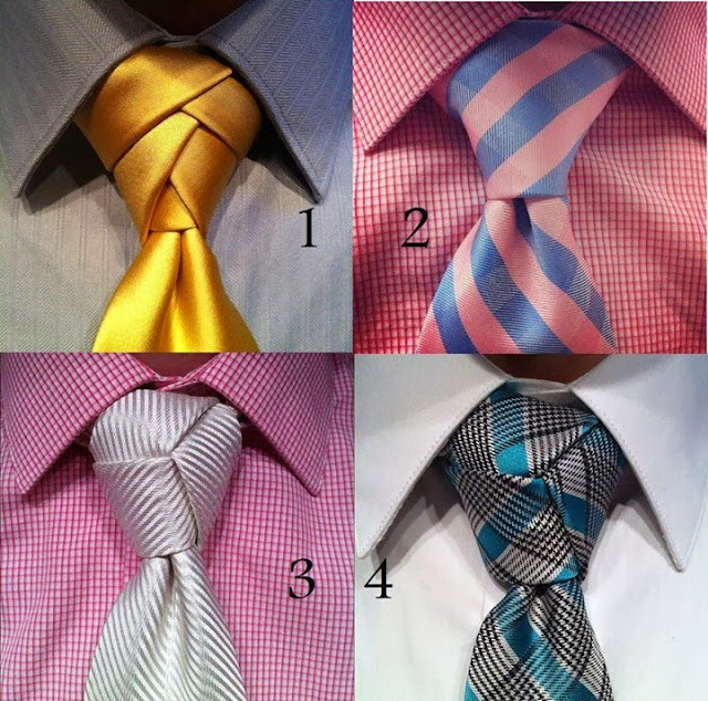 4 Style Of Tie For Men