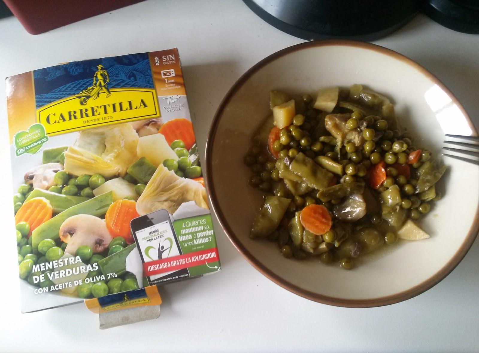 Bonito cocinar menestra de verduras fotos esta receta de - Menestra de verduras en texturas ...