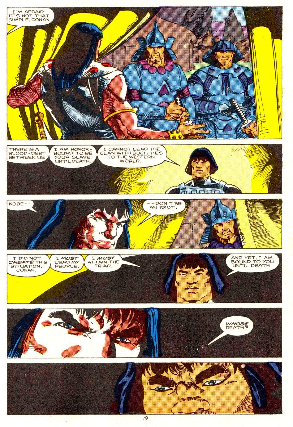 Conan the Barbarian (1970) Issue #207 #219 - English 16
