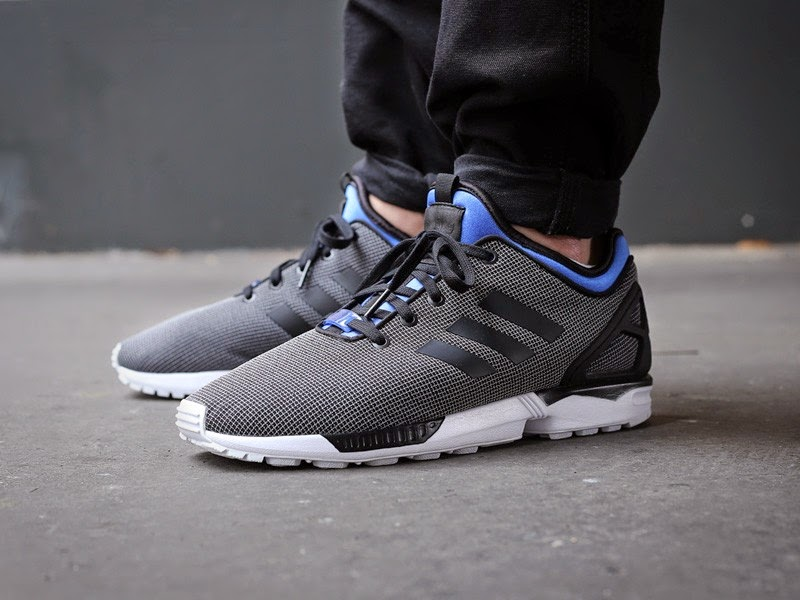 ... adidas buty zx flux nps black blue .. ...