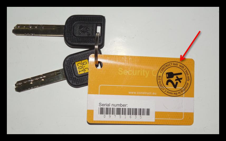 Сделать Ключ Construct Mul-T-Lock