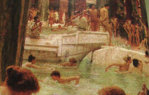 Imagenes De Baño Frio:Banos Romano's