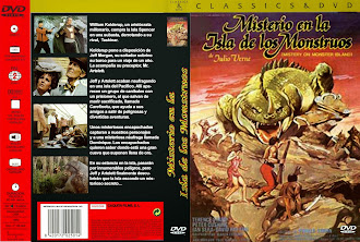 Carátula dvd: Misterio en la isla de los monstruos