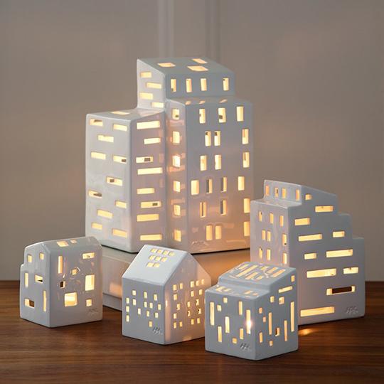 Ljushus Urbania - Etage, Functio, Klassisk, Moderna och Kubis av Mette Bache och Barbara Bendix Becker för Kähler Design  | www.var-dags-rum.se
