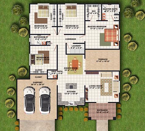 Planos de casas modelos y dise os de casas hacer planos for Hacer casas en 3d online