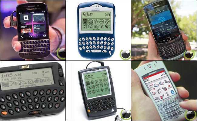 14 Desain Ponsel Blackberry dari Masa ke Masa