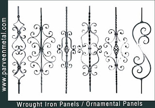 Ornamental iron panels and wrough iron panels hardware for gates parts and fences manufacturers exporters in  india, usa, uk, America, UAE Dubai, australia, italy