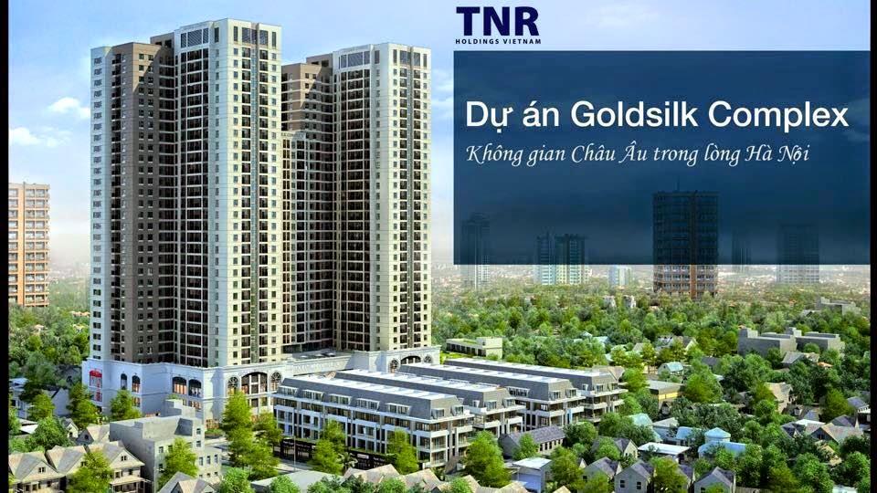 Chung cư Goldsilk Complex Vạn Phúc Hà Đông