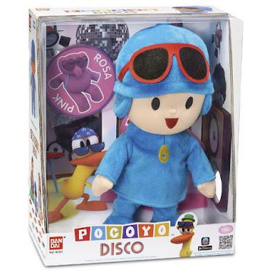 TOYS : JUGUETES - Pocoyó Disco Muñeco - Peluche Bandai Ref. 84361 | Serie Television Infantil 2015 | A partir de 18 meses Comprar en Amazon España