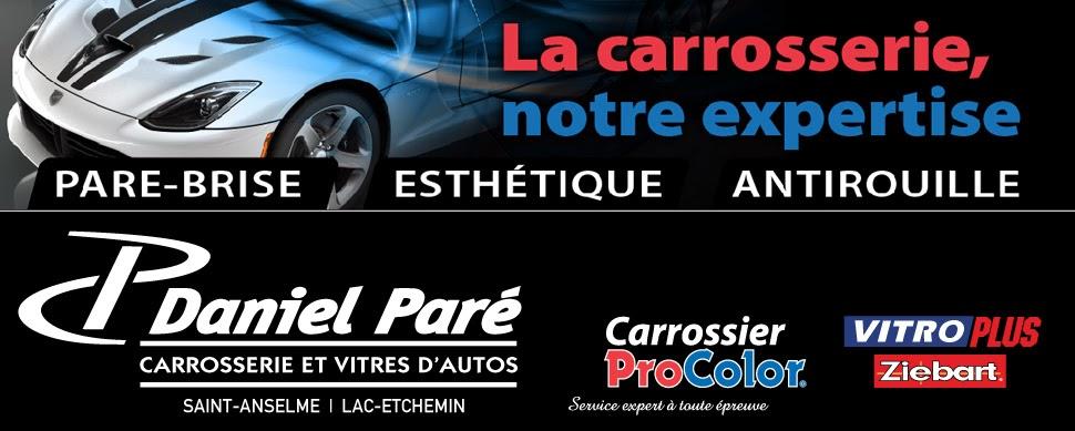 Daniel Paré Carrossier ProColor et VitroPlus à St-Anselme et Lac-Etchemin