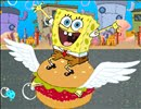 SpongeBob Love to eat Hamburgers