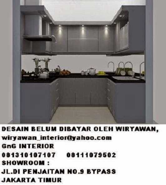 Product design desain interior kitchen set yang tidak di for Biaya membuat kitchen set
