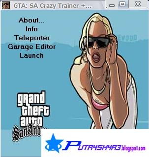 Cheat - Trainer GTA San Andreas PC