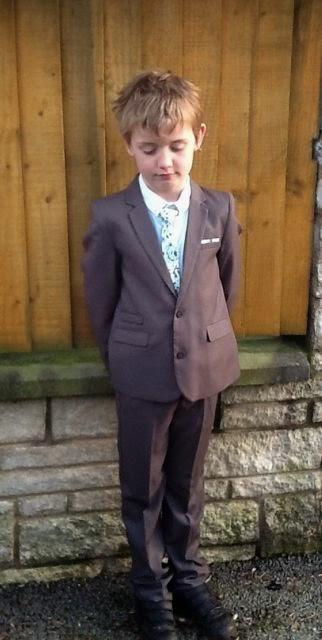 M&S formal boy suit